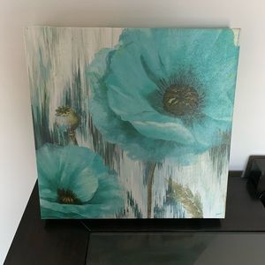 Other - Blue Floral Wall Art